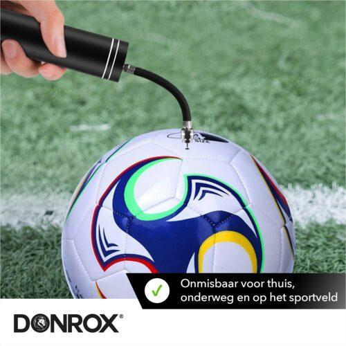 Donrox elektrische voetbalpomp