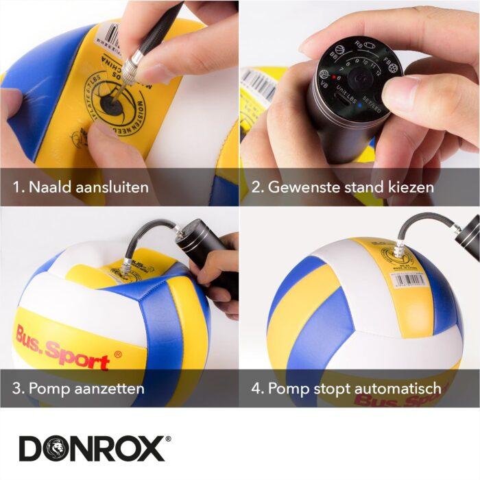 Donrox elektrische ballenpomp
