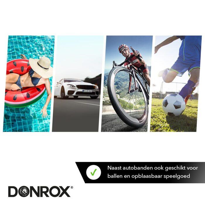 Donrox fietspompen hebben verschillende toepassingen