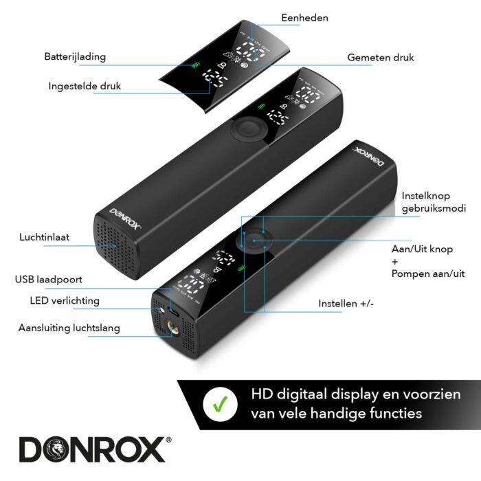 Donrix Ride F521 met helder display