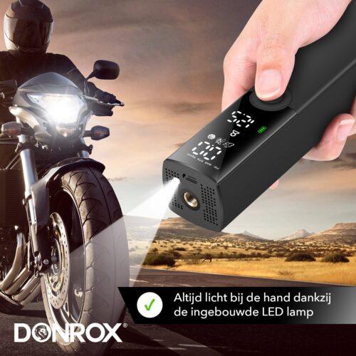 Donrix Ride F521 met ingebouwde zaklamp