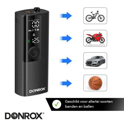 Donrix Ride F522 voor fietsen, motoren, auto's en banden