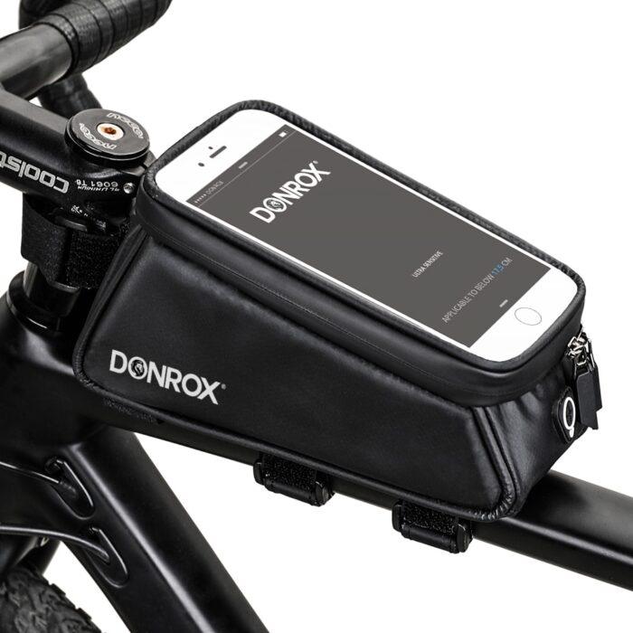 Donrox fietstas voor fietspomp en telefoon